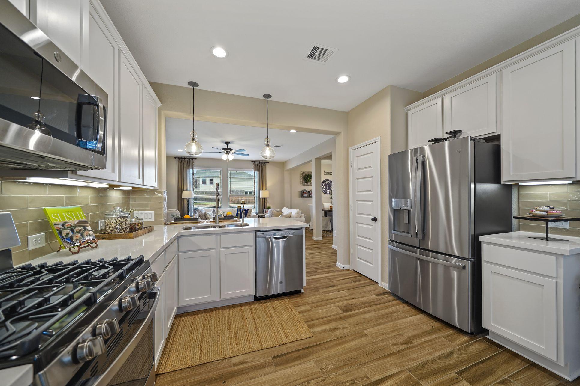 Interior:Modern kitchen