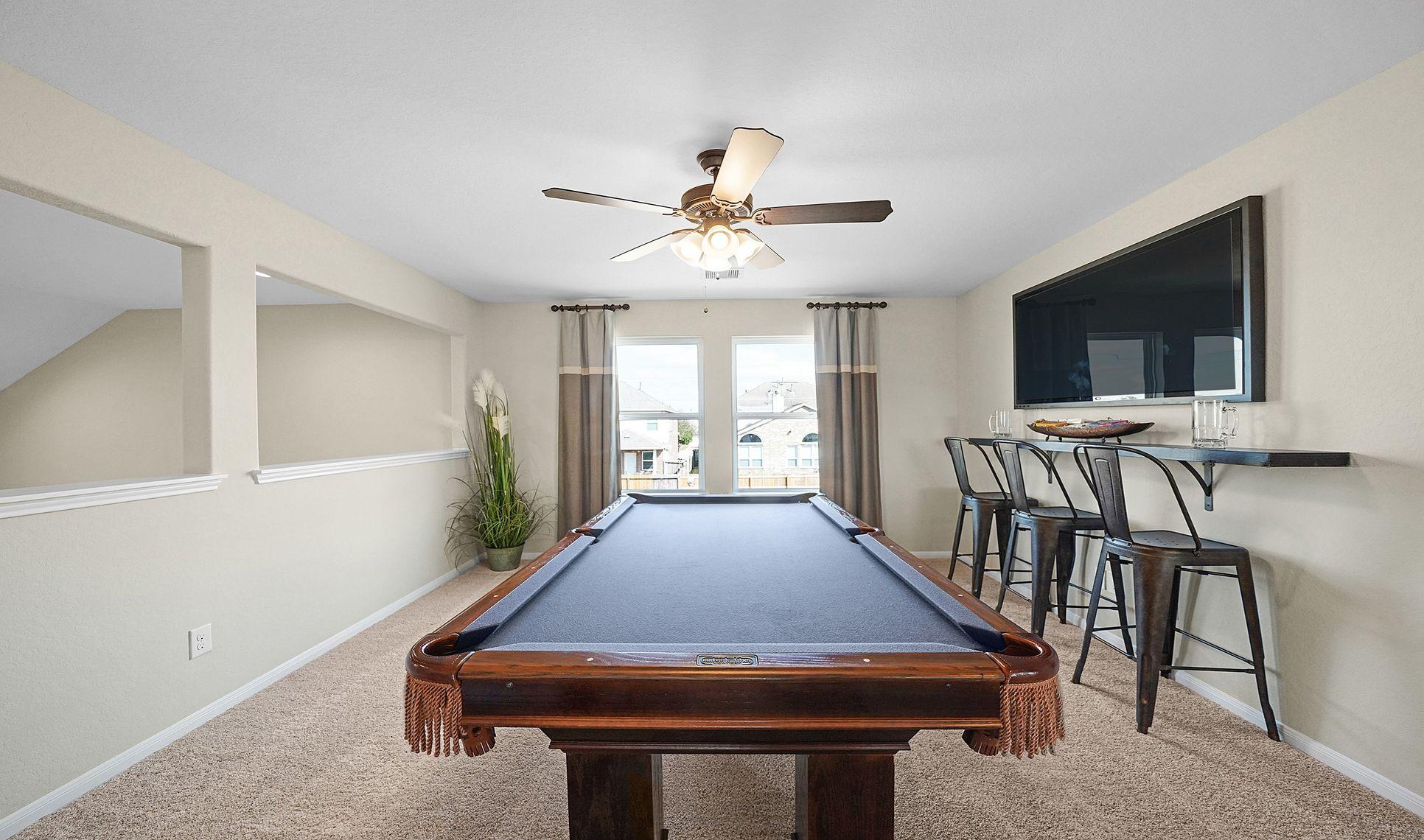 Interior:Versatile activity room