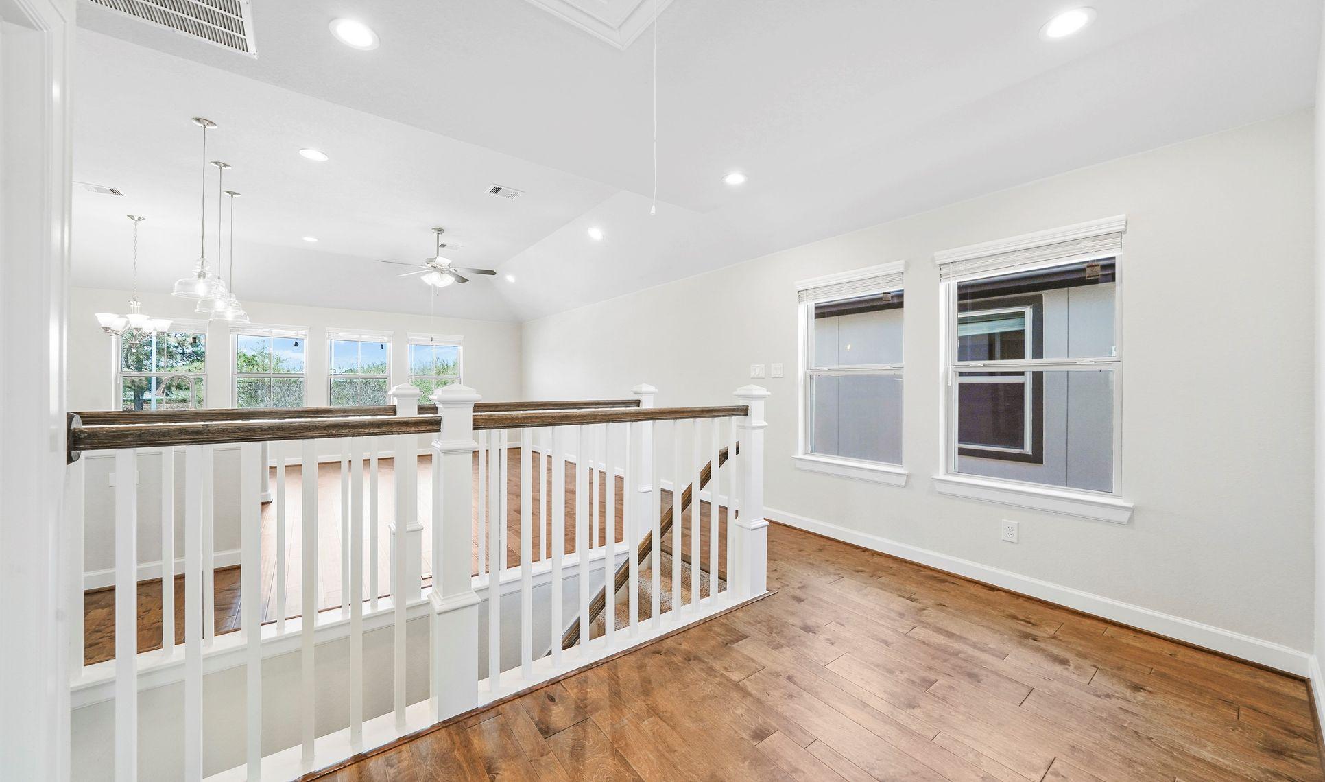 Interior:Second floor landing