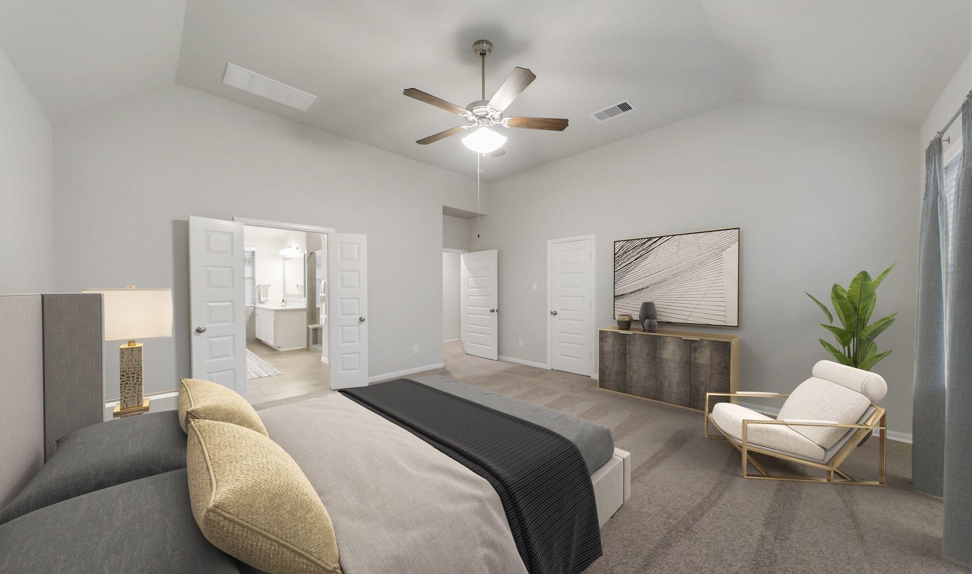 Interior:Serene owner's suite