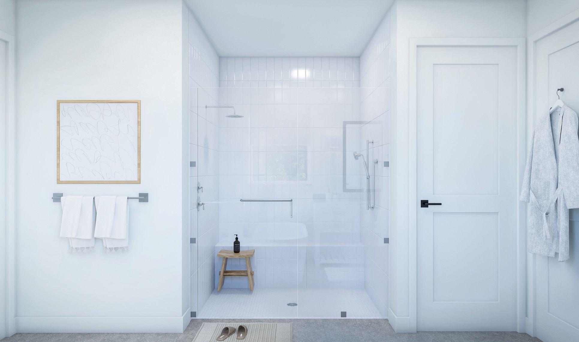 Interior:Luxurious owner's bath