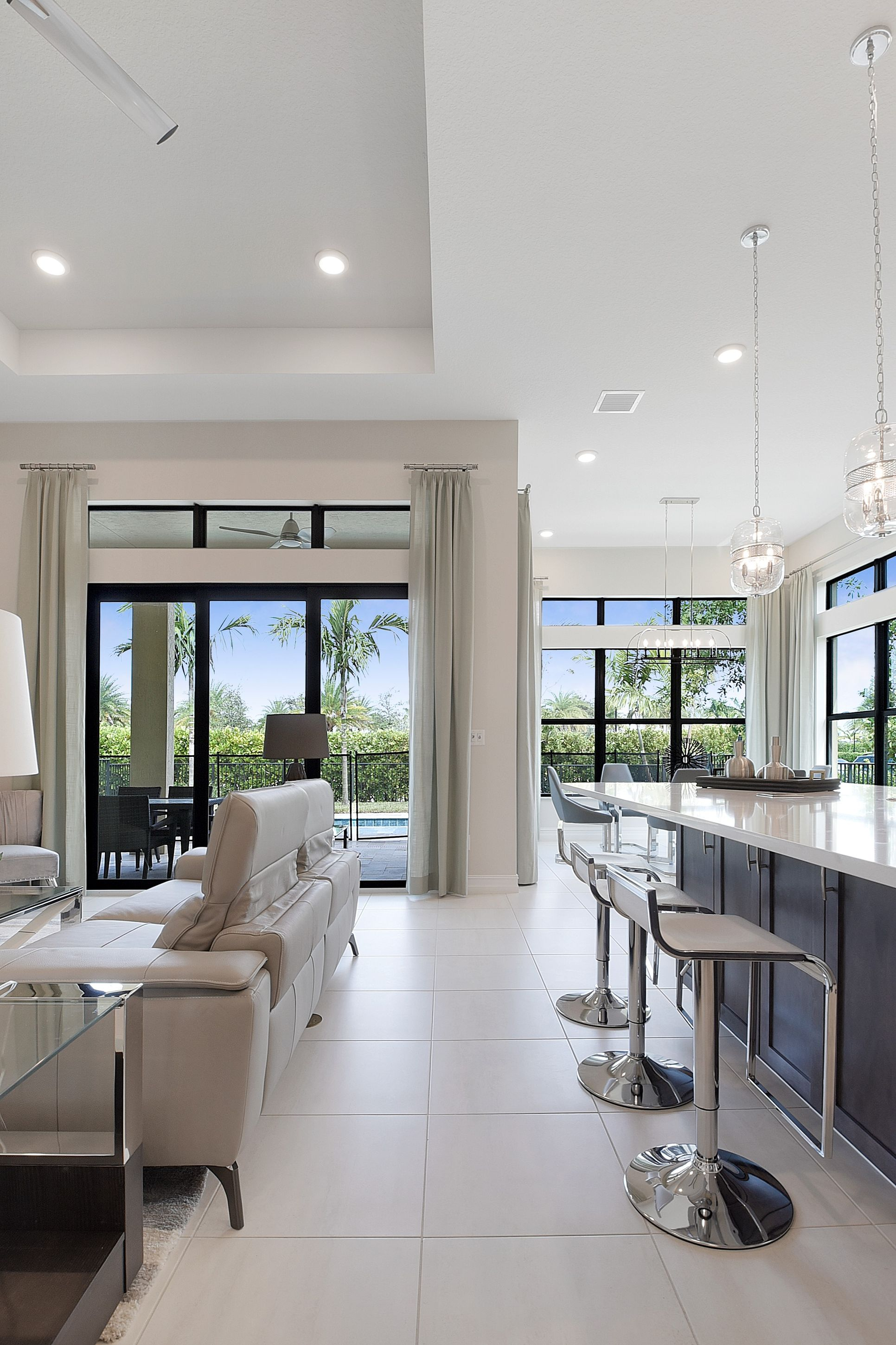 Interior:Bright and open great room