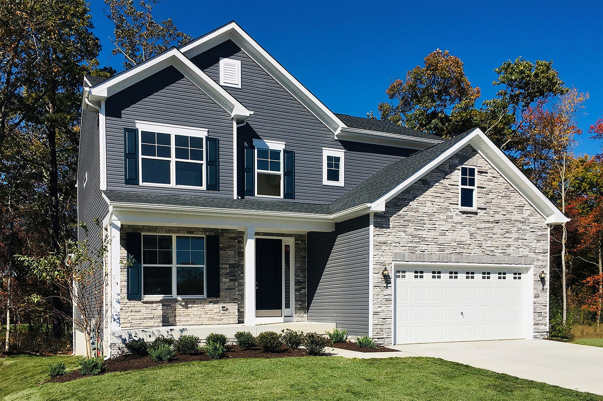 Thumbnail Haddenfield II siding in brittany manor new homes in mount airy maryland