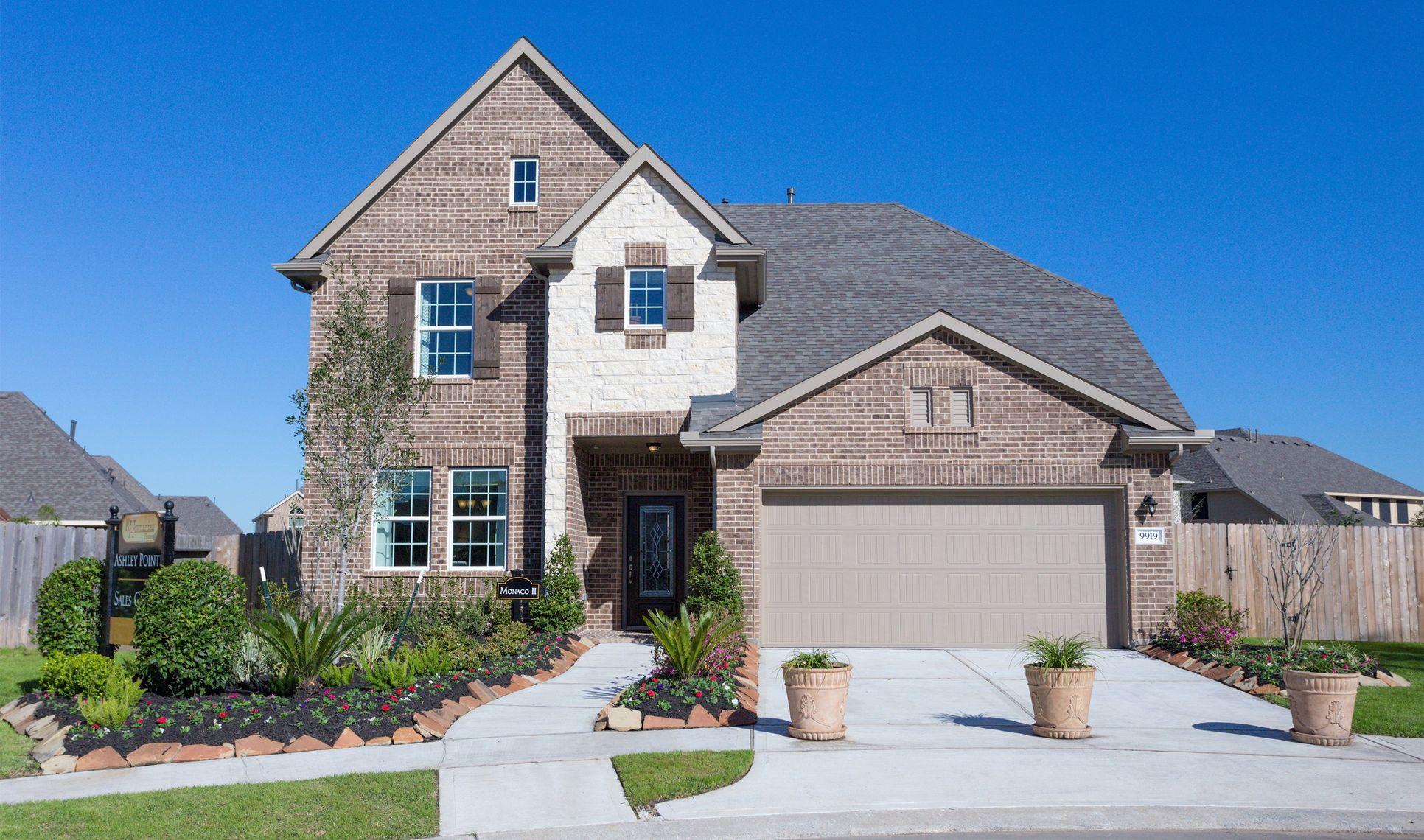 Ashley Pointe - 50' Homesites in Houston, TX :: New Homes ...