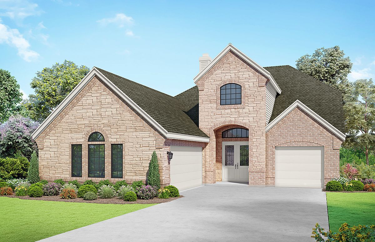 Images are artist renderings and will differ from the actual home built.:833 Rench