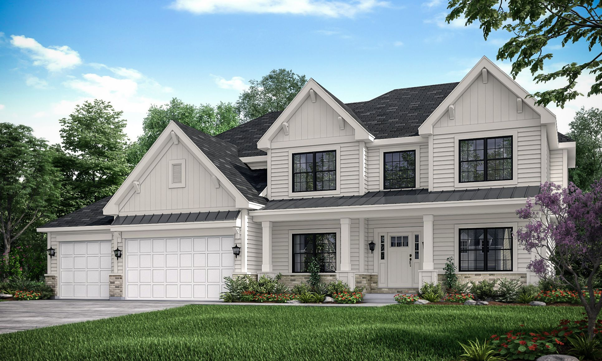 King's Court Builders:Claremont Elevation A