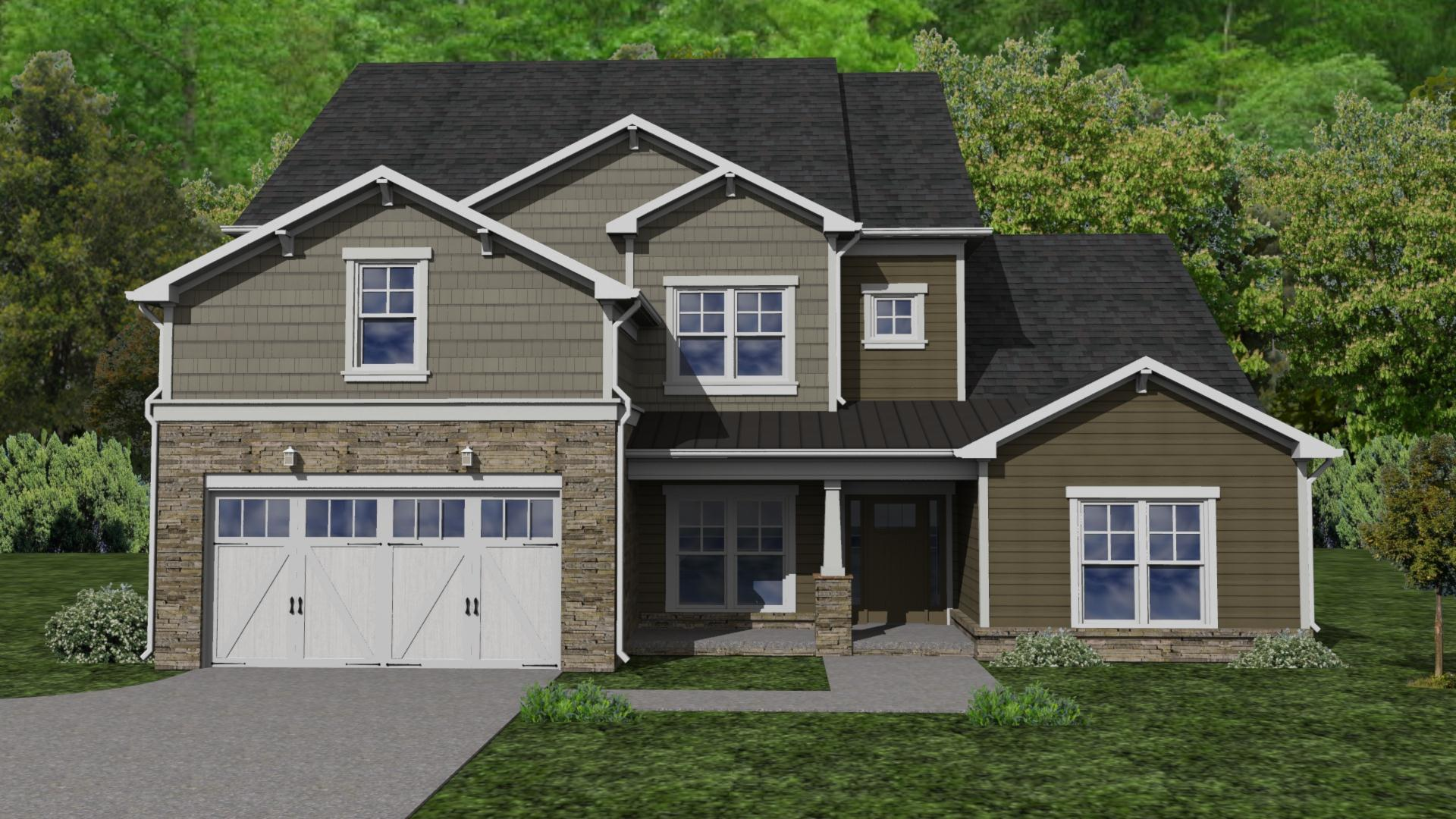 Craftsman:Elevation A