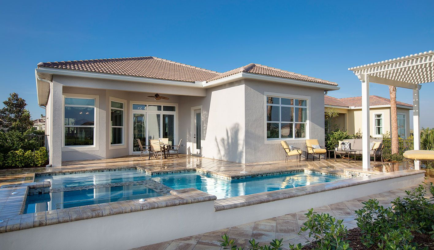 Pool of Alessa Model:PGA Village Verano by Kolter Homes