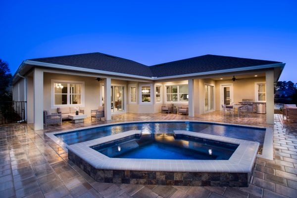 Pool of Elm Model:Victoria Hills by Kolter Homes