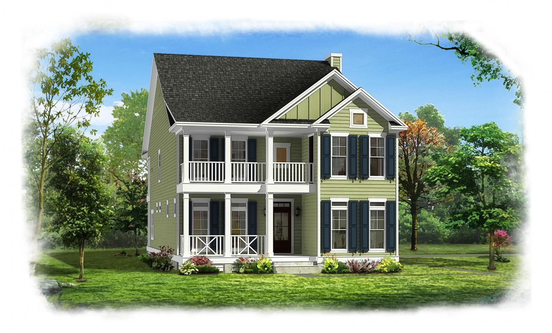 Exterior:Konter Quality Homes Bluffside The SeaBrook 20160308