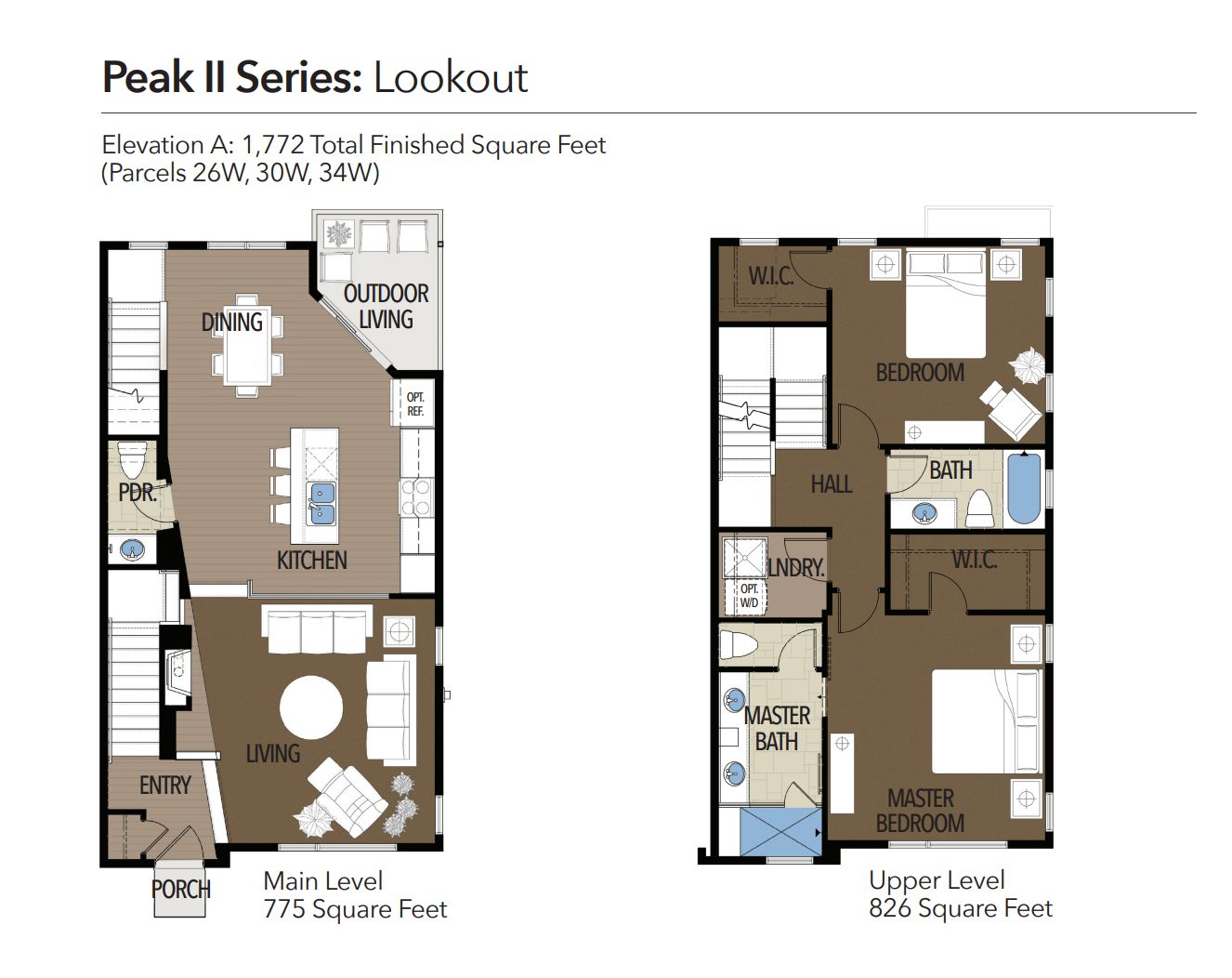 Lookout :Main and Upper Level