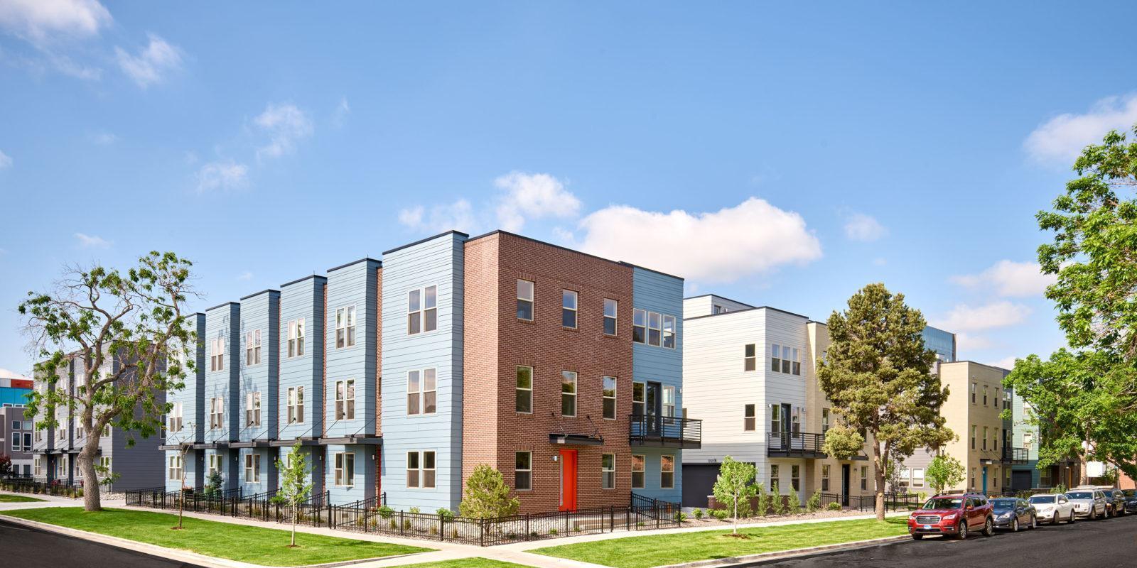City Homes at Lincoln Park:Community Image