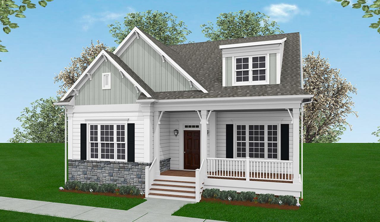 Exterior:Langston Elevation with Optional Features