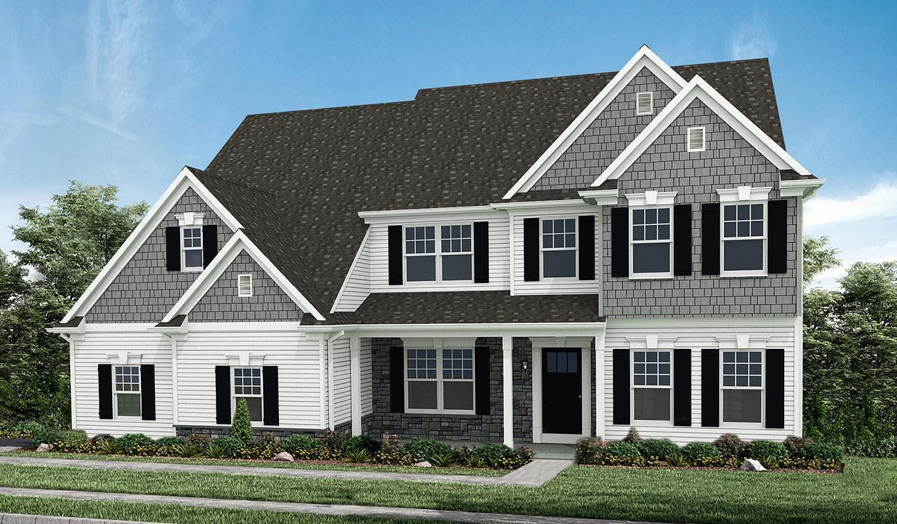 Exterior:Elevation A – Optional Features Shown