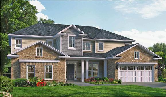 Colleton Elevation:Available in Select Landmark 24 Communities