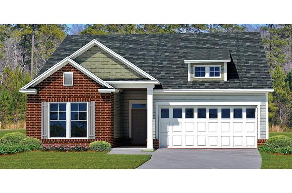 Spring Valley II LE Elevation:Elevation Is Only Available In Select Landmark 24 Communities