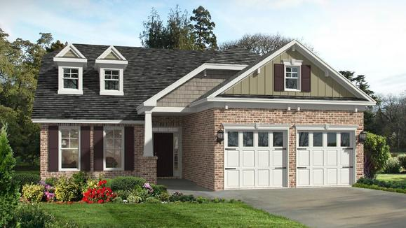 Pinehurst II Elevation LE:LE Elevation is Available in Select Landmark 24 Communities