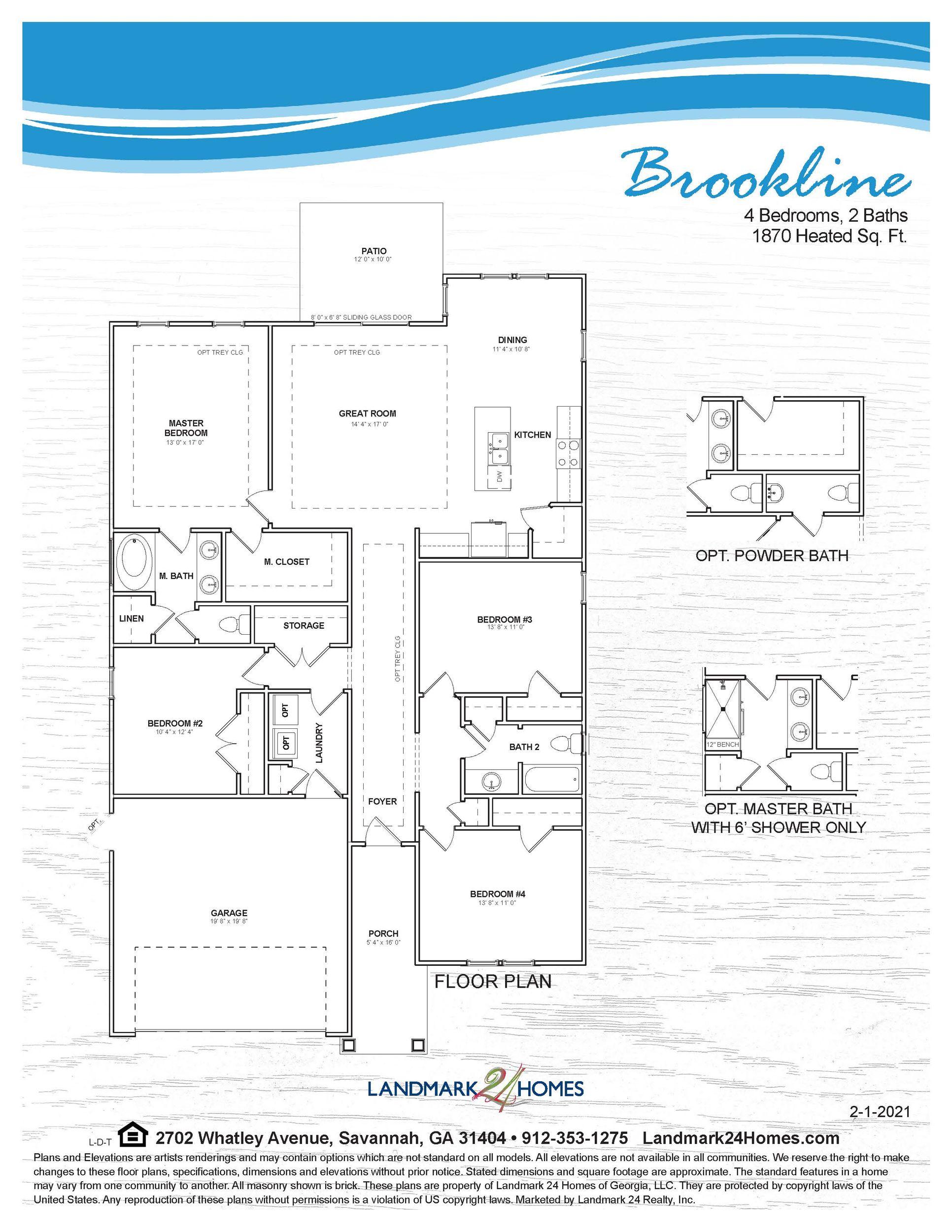 BROOKLINE Floorplan 2 1 21