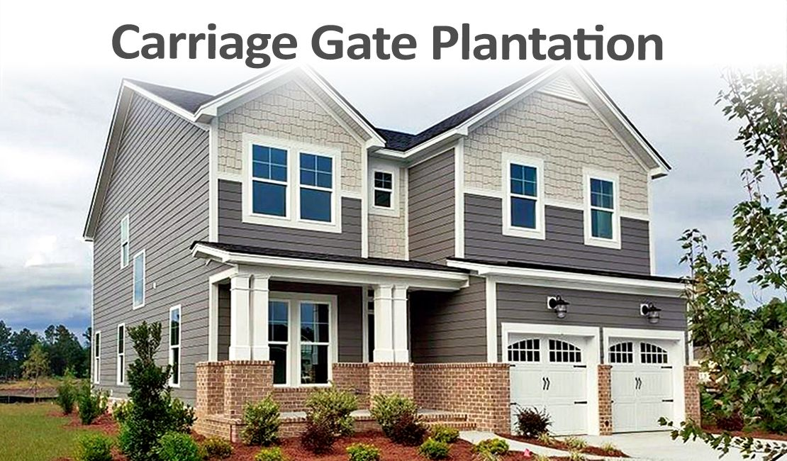 Carriage Gate  Plantation Title Image:The Richmond  Plan in Carriage gate