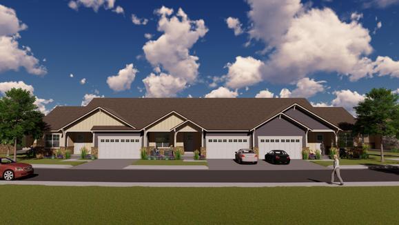The Cottages:Garage Doors