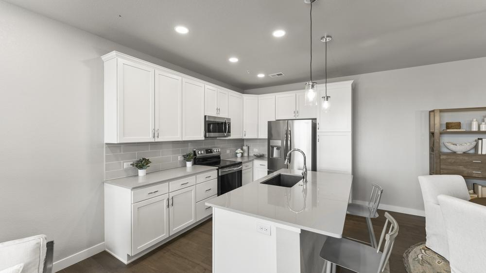 Interior:Kitchen - Not Actual Home - Finishes Will Vary