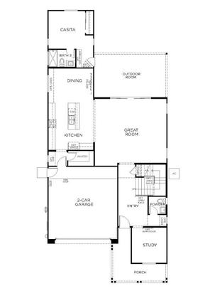 Plan 3514:First Floor