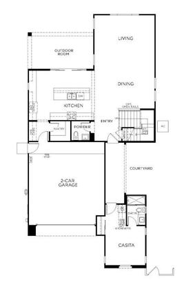 Plan 3513:First Floor