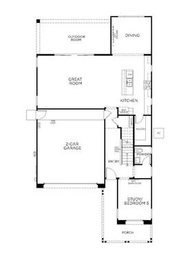 Plan 3512:First Floor