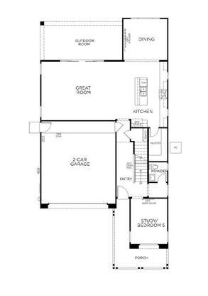 Plan 3512:First Floor