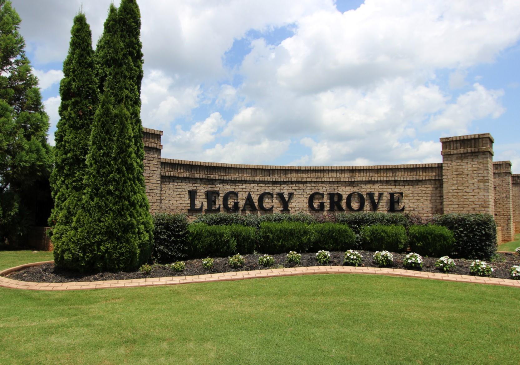 Legacy Grove Entrance