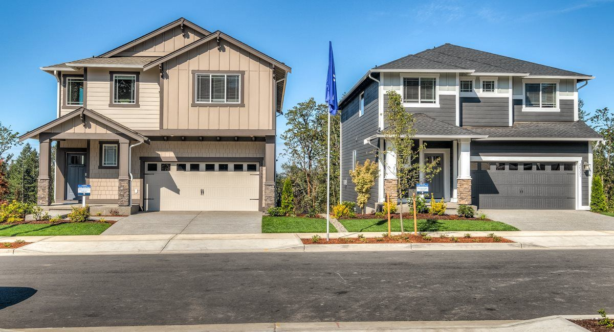 Two beautiful Model Homes!