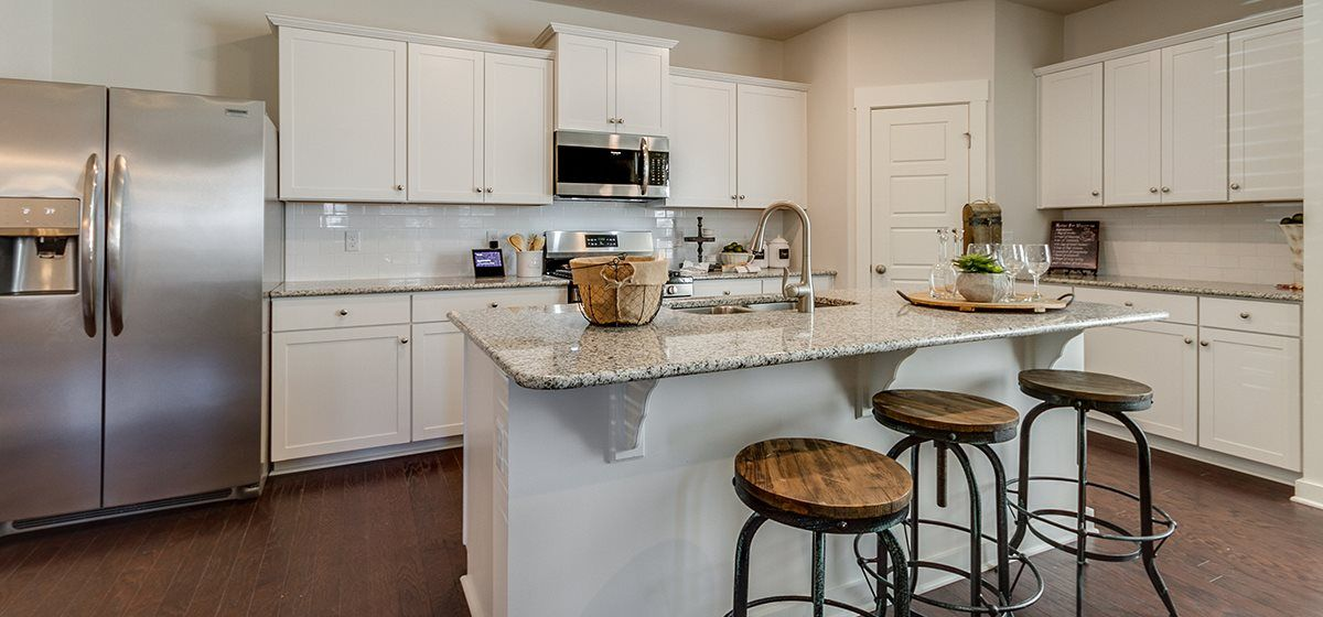 Beautiful Kitchen at Carellton Welcome Home Center