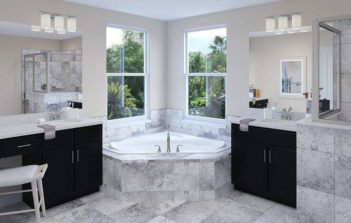 Peabody Master Bathroom