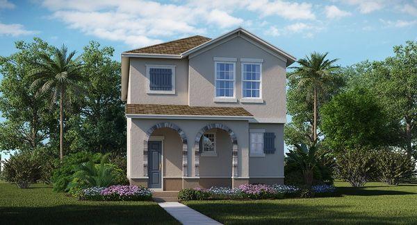 Residence 1 C Elevation