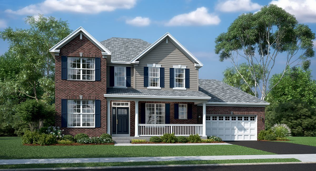 Auburn C shown with optional brick & rail