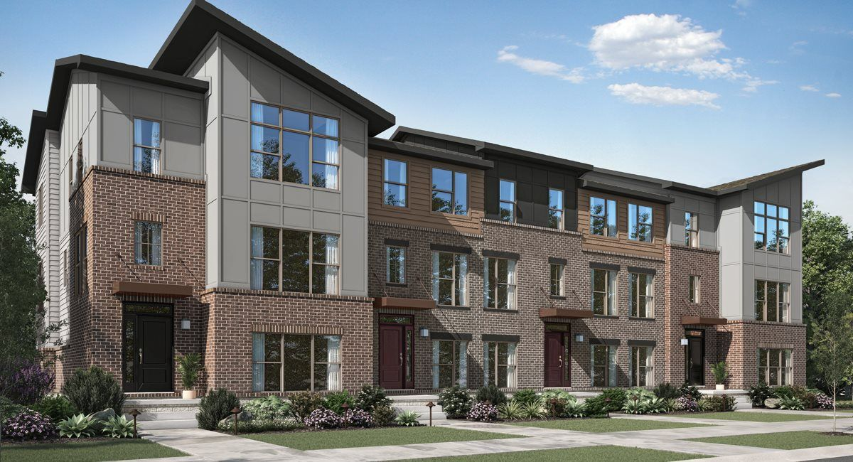 Meridian Urban Exterior at Parkside Towns at Saxon