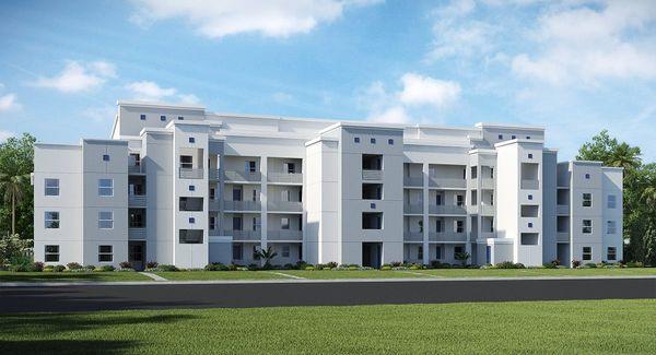 Terrace Condominiums Front View