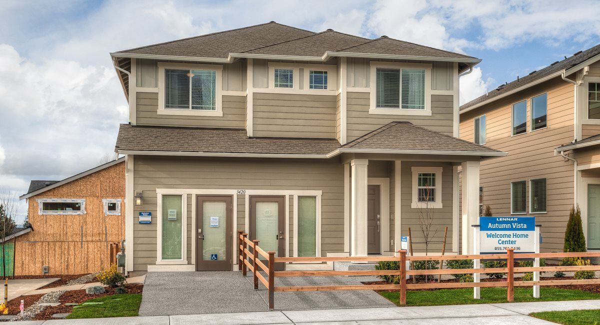 The Hickory Model at Autumn Vista