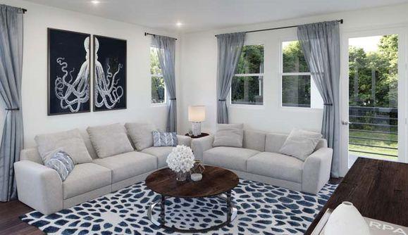 Plan Nine A | Living Room Still
