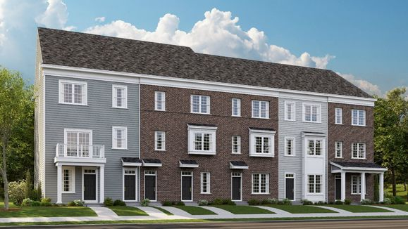 New homes in Bensalem on the water.