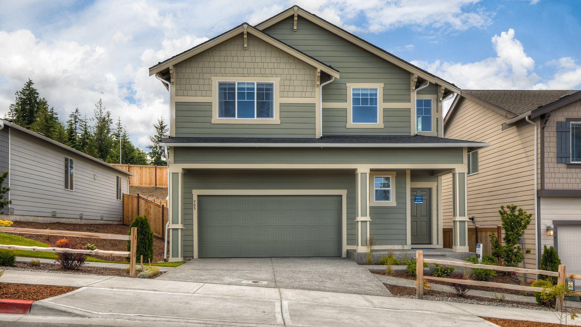 The Magnolia Model home at Soundview Estates