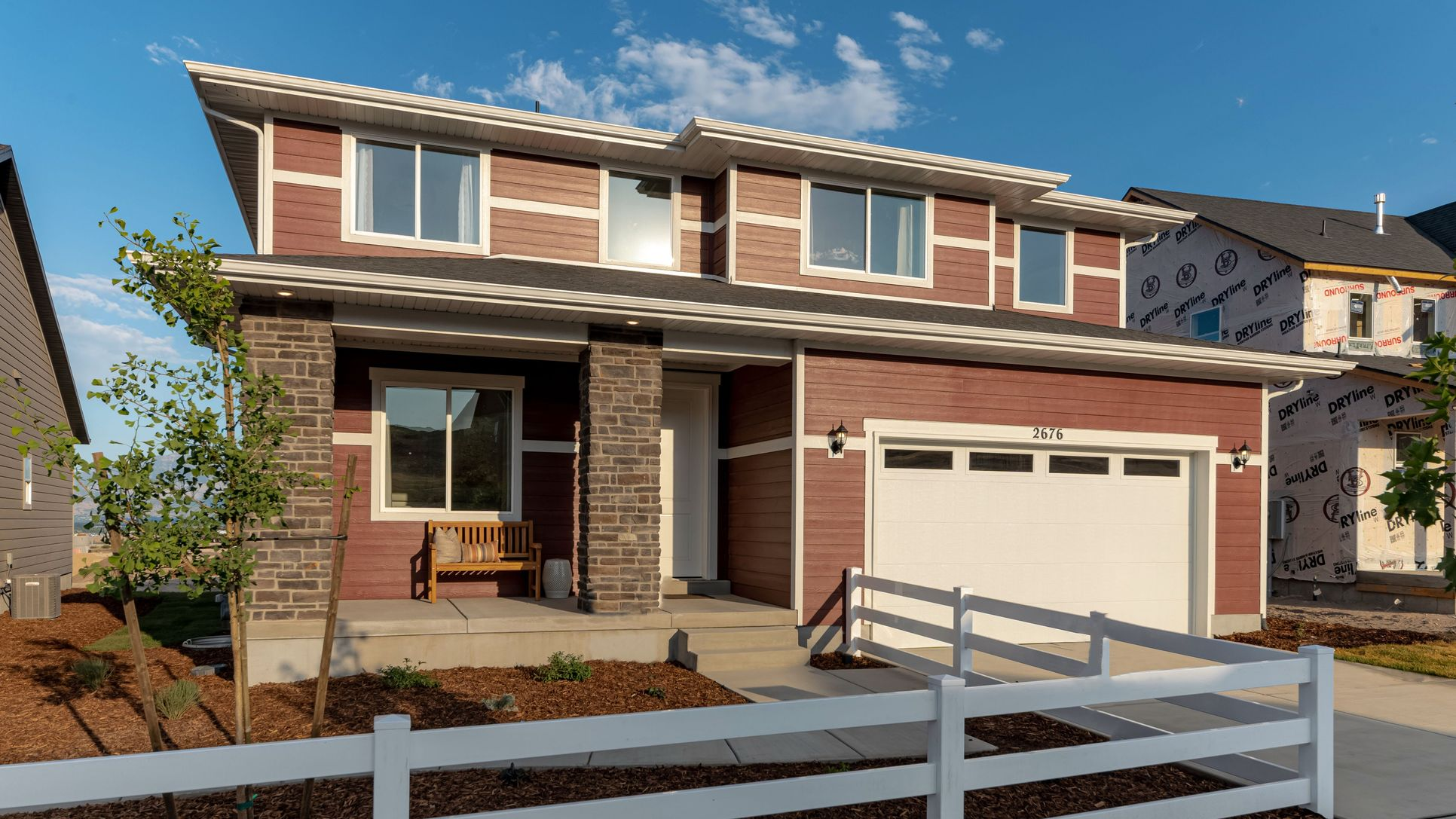 New homes in Saratoga Springs, Utah for sale by Le