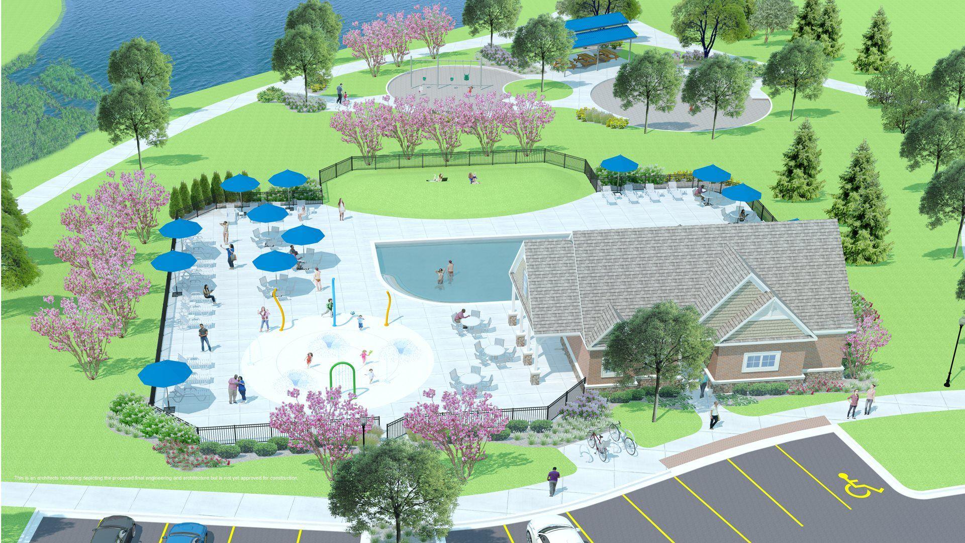 Upcoming resort-style amenities