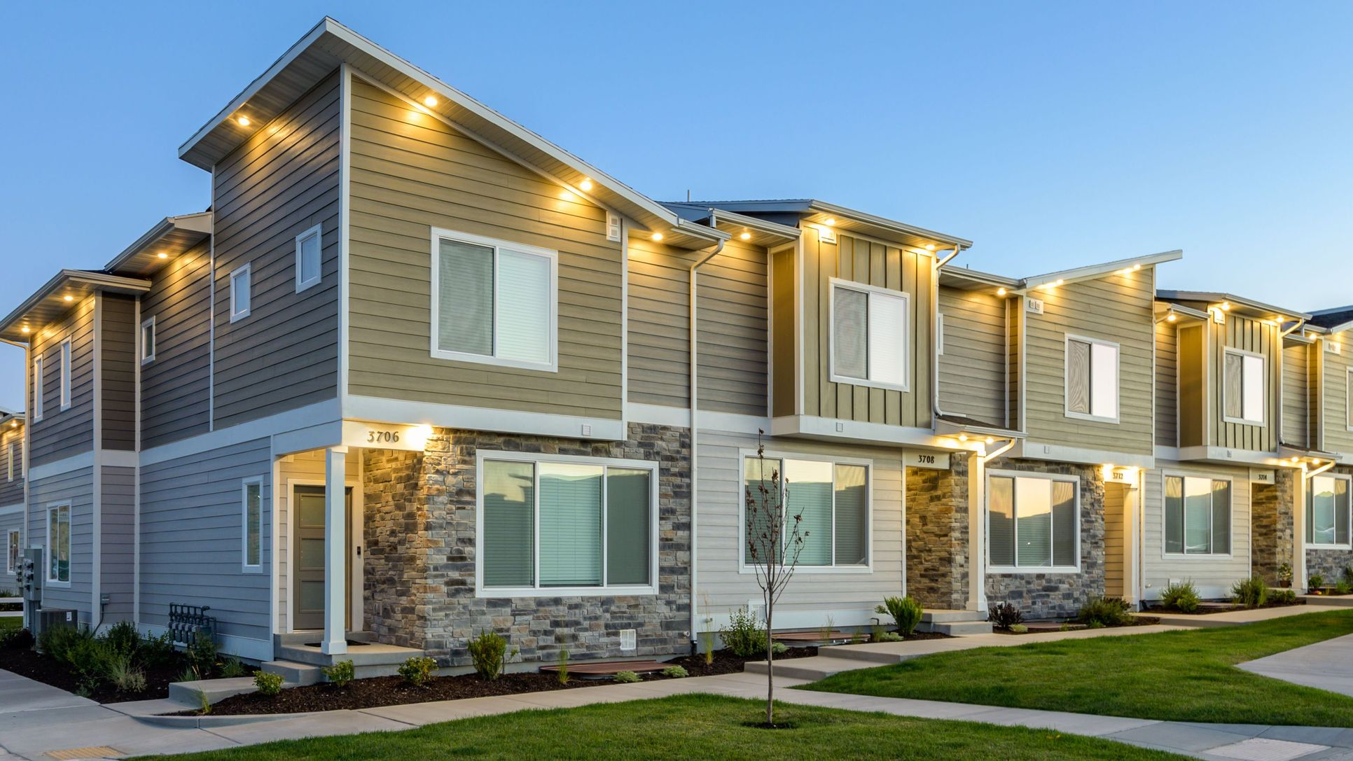 New townhomes for sale in Herriman, UT by Lennar!