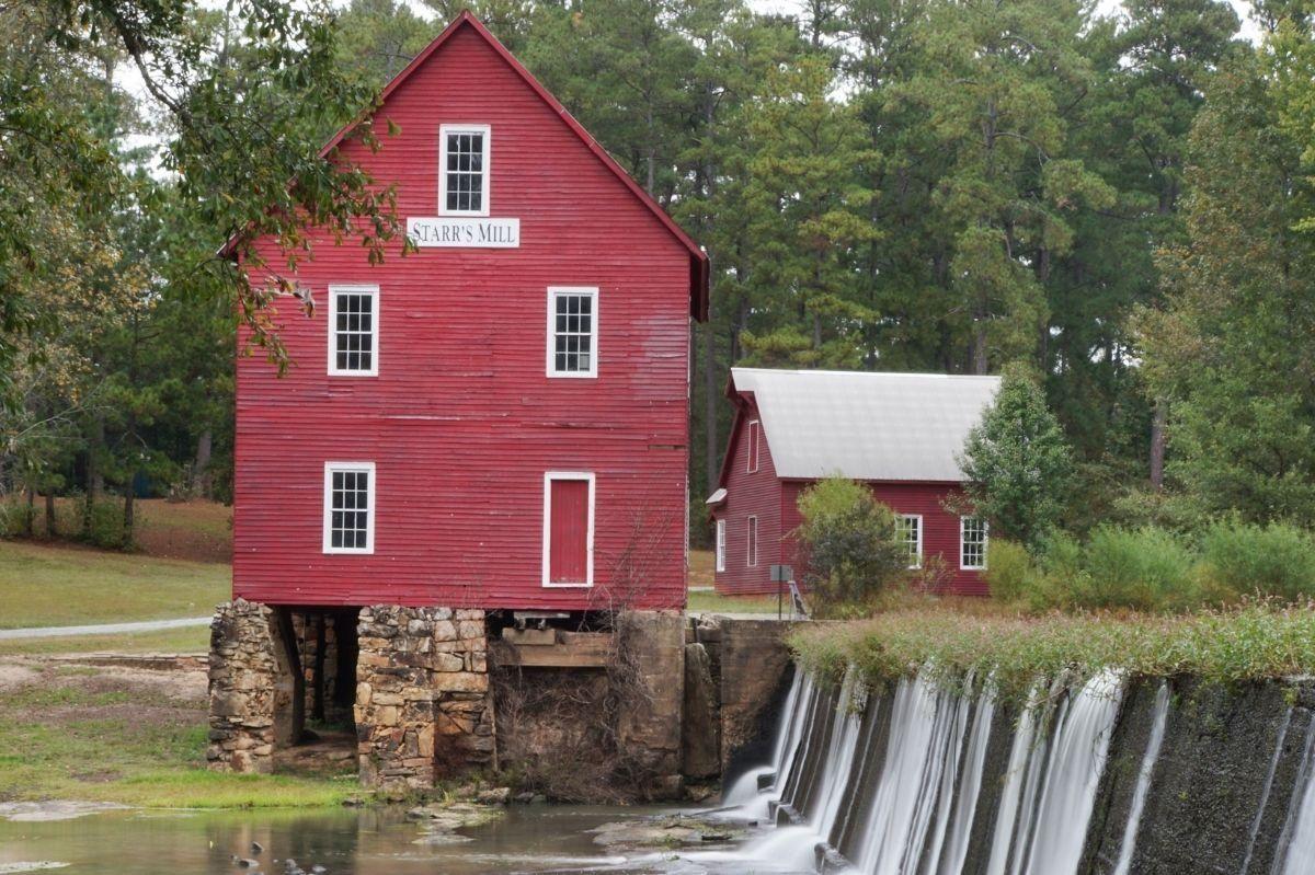 Starr's Mill Waterfall