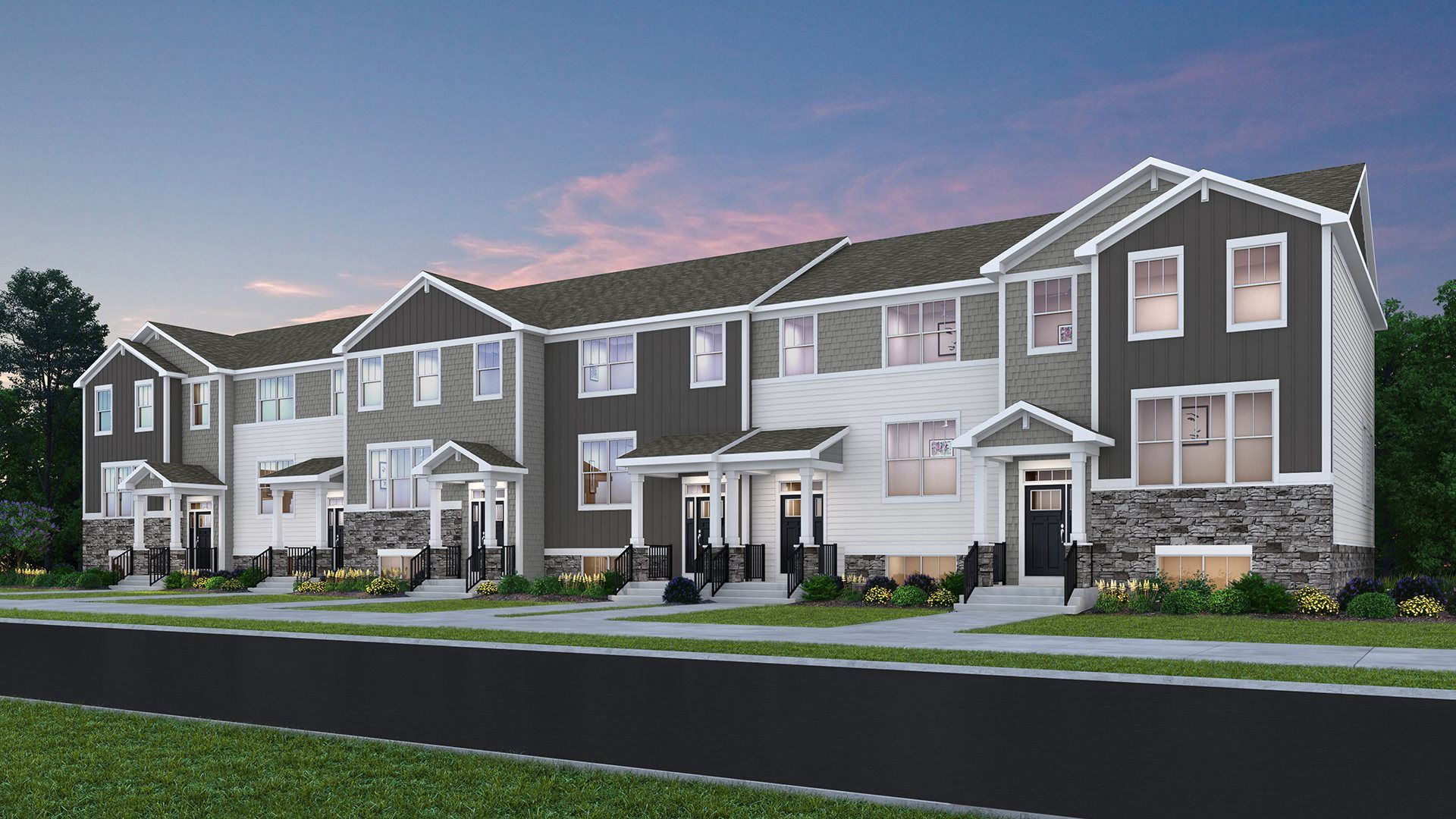 New Urban Townhomes for sale in Mundelein, IL by Lennar Homes