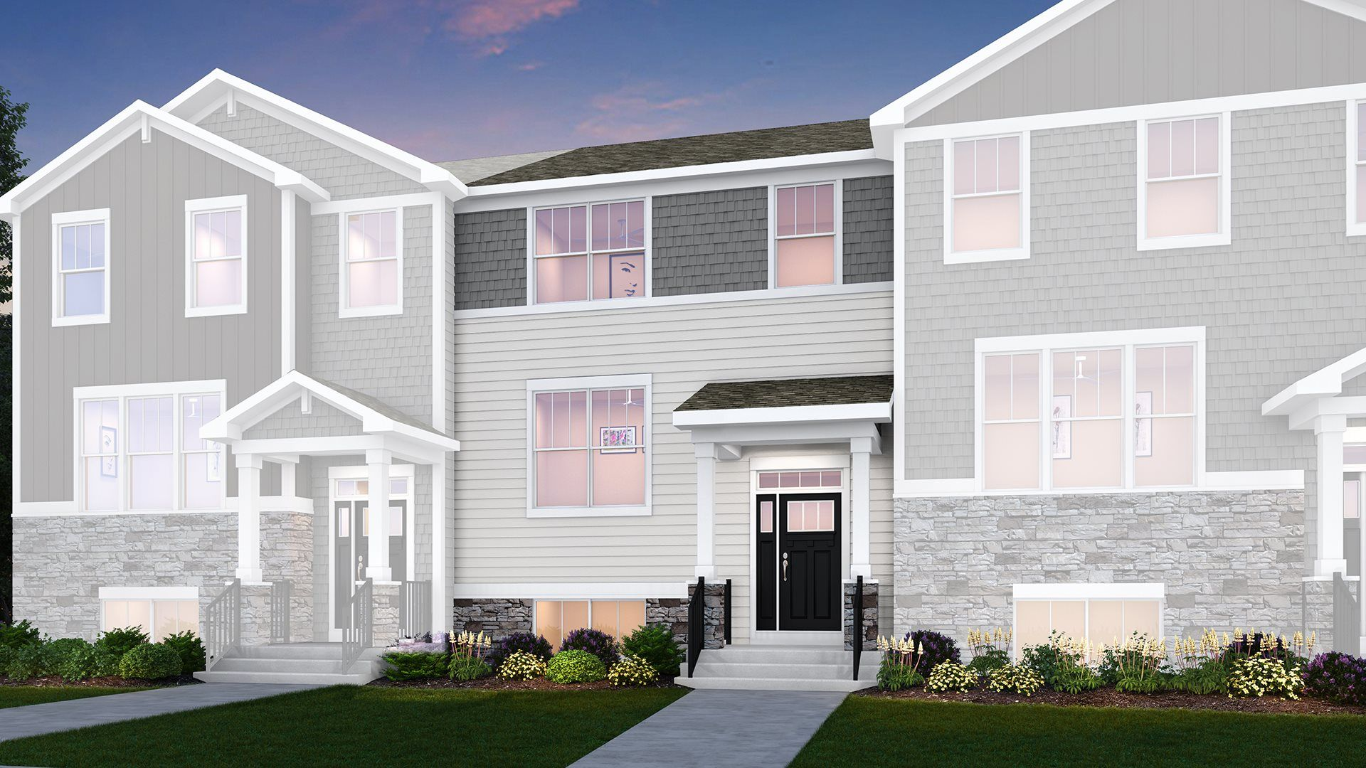 Amherst floorplan with Urban exterior