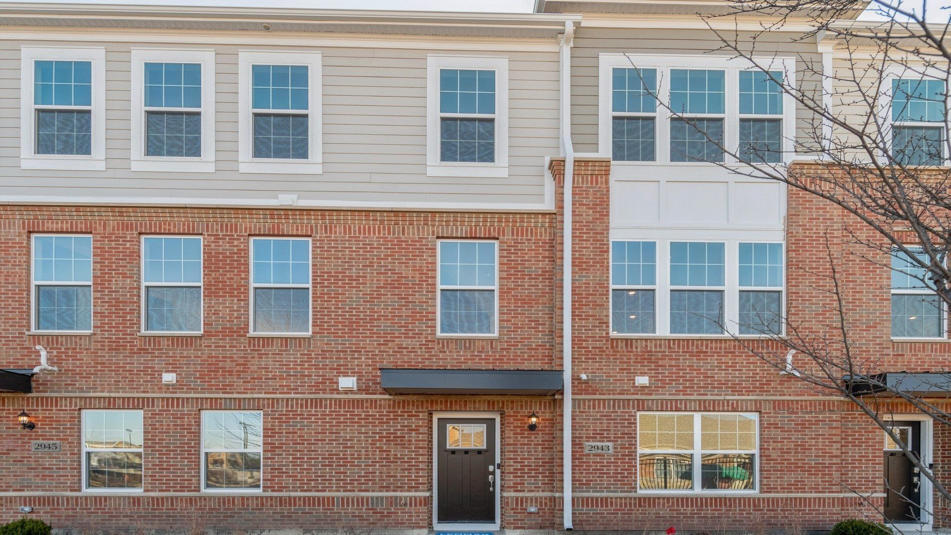 Spacious three-bedroom townhome