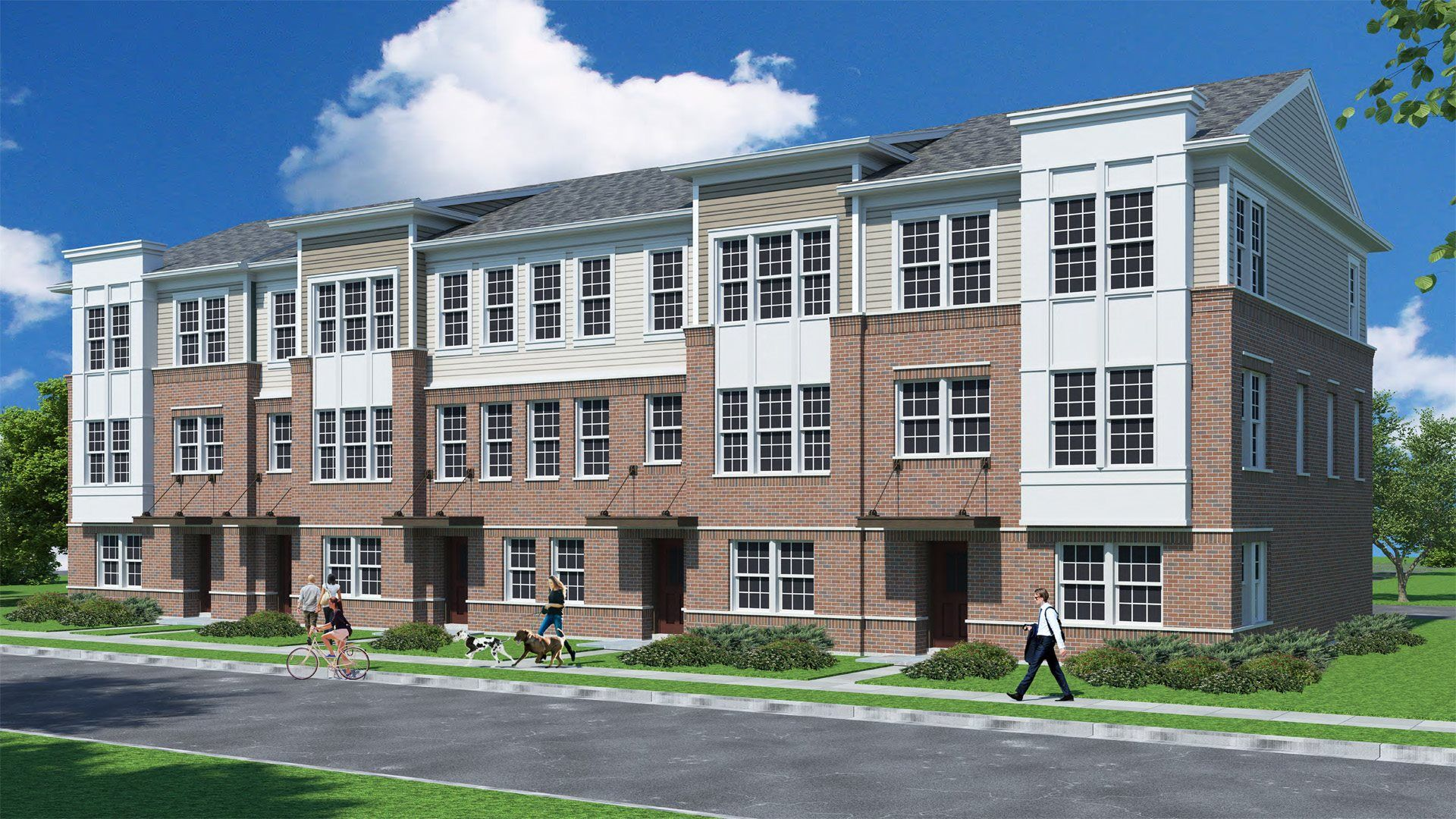 New Townhomes for sale in Naperville, IL by Lennar Homes