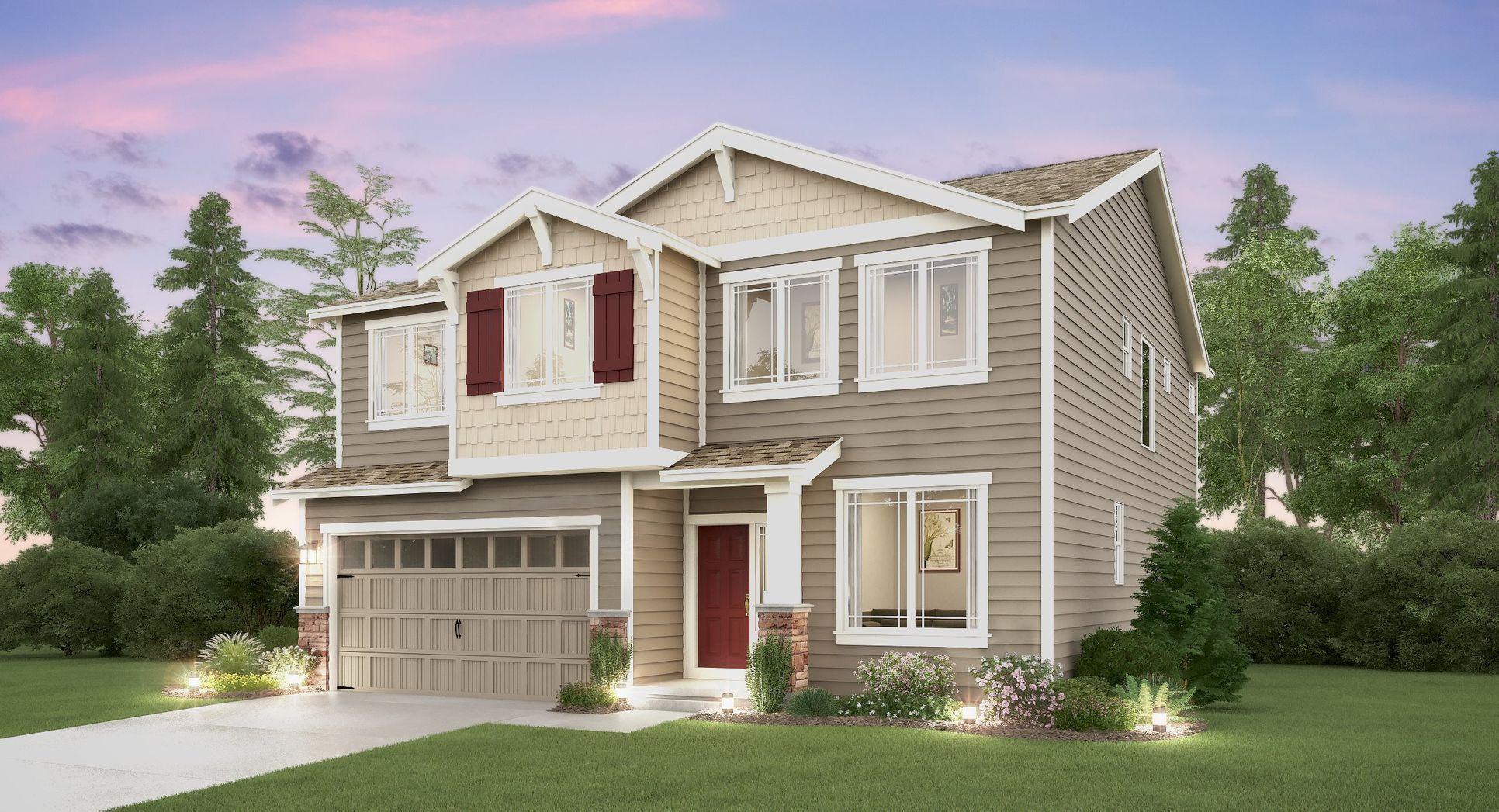 The Davenport home, Elevation B